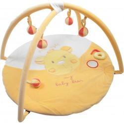 Tapis d'éveil avec arches Baby Bear jaune, King Bear